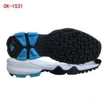 Rubber cricket shoes outsole, style rubber spikes,cricket soles