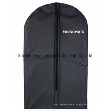Custom Black Plastic PEVA Suit Garment Bag
