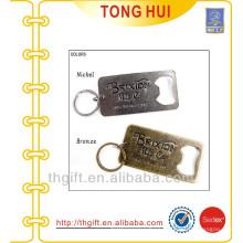 Bottle openers zinc alloy metal key chain