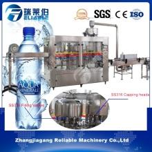 Bouteille en plastique automatique Fabricant de capsules de remplissage d'eau pure