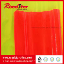 Transparent PVC glitter reflective film