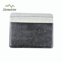 Bloc de marbre et de granit poli