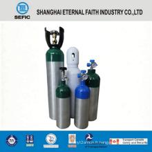 Cylindre de gaz en aluminium à haute pression de 2,8 L (LWH120-2.8-15)