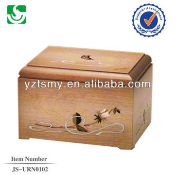 Пользовательские древесины урна JS-URN102
