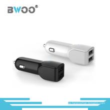 Cargador de coche dual USB de alta velocidad para todos los móviles
