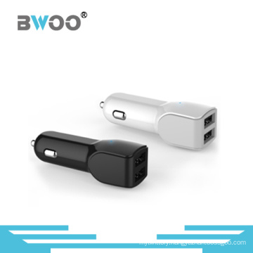 Hot Sale USB Car Charger with 2 USB Ports