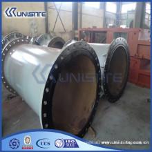 Tubo de aço resistente ao desgaste espesso personalizado para dragagem (USC7-003)