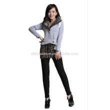 новый 2017 женщины девятый брюки трикотажные кашемир леггинсы девятый