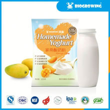 fruit taste acidophilus yogurt in the morning