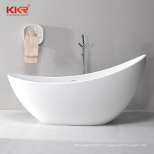 Curve special Design Solid Surface Freestanding Bath Tub For Hotel