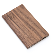 Eco-friendly Power bank 4000mAh New design  wood product Engraved bamboo wood travel portable mobile powerbank