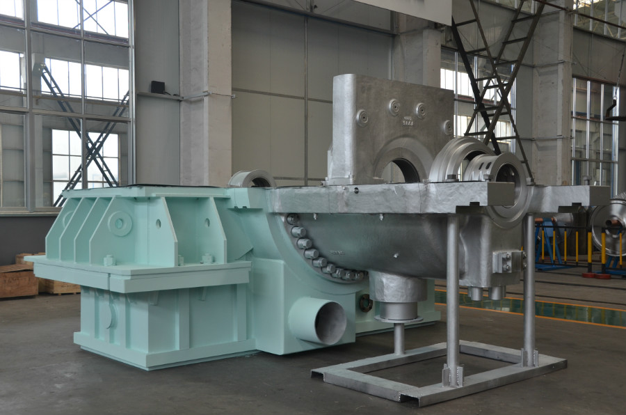 Extracting Condensing Steam Turbine (3)