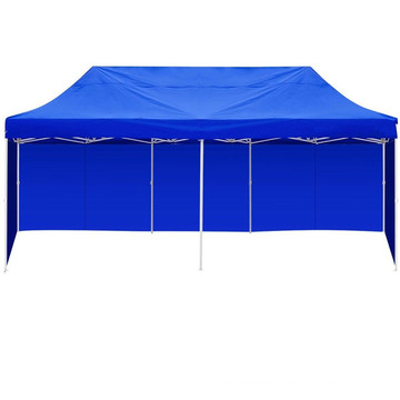 3m X 6m Blue Folding Outdoor Gazebo Marquee