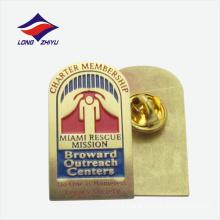 Miami rescue mission custom logo lapel badge