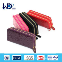 Women pattern pu long purse