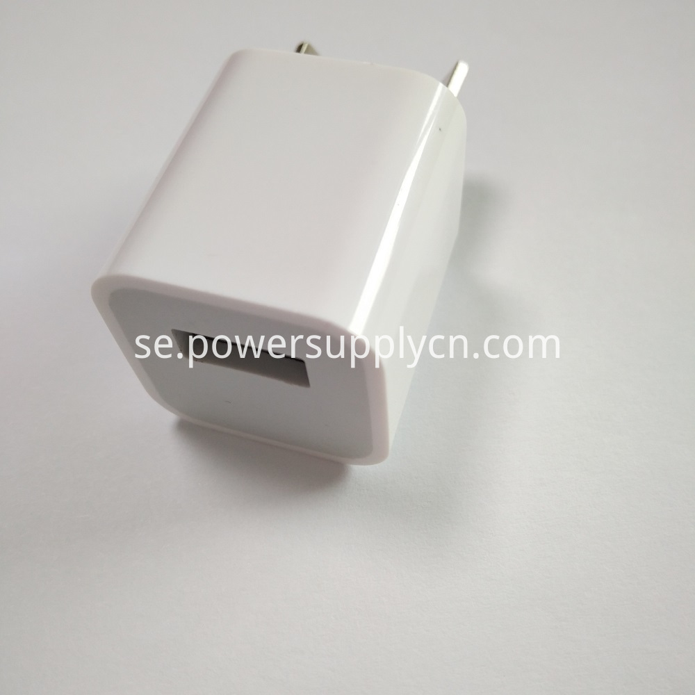 5V1A USB Phone Travel Charger