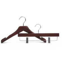2016 Новый дизайн деревянной вешалки с надписью Notch для пальто