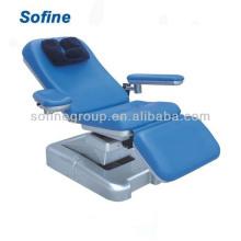 CE, ISO genehmigt drei Funktionen Elektrische Blutspende Stuhl