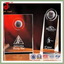 2016 atacado K9 troféu de cristal na África (JD-CT-407)