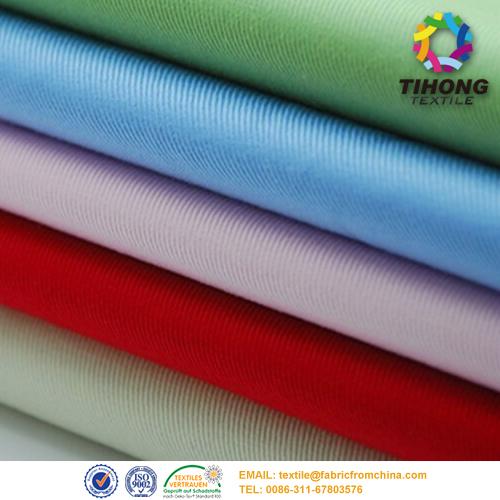 T/C ανάμειξη twill ύφασμα ενδύματα εργασίας χρώμα