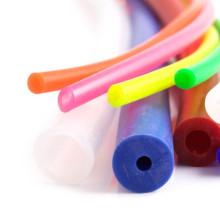 Food Grade Colorful Silicone Rubber Pipe