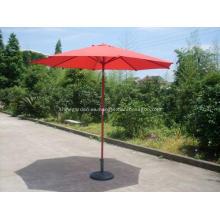 Paraguas del Patio impermeable de aluminio