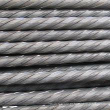 Varilla de alambre de acero para PC de 7 mm para pretensado