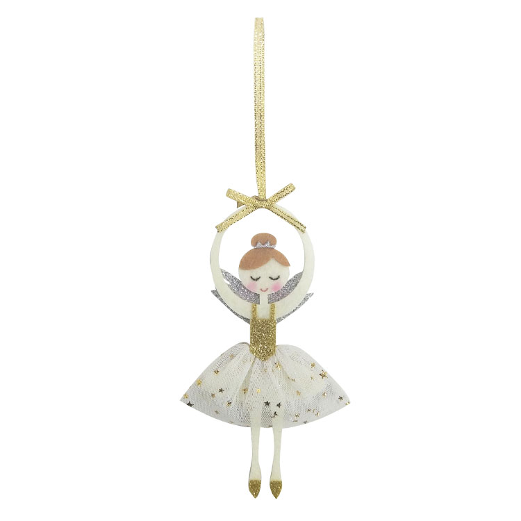 Christmas Dancing Girl Ornament