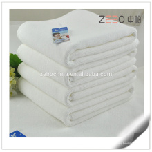 100% Cotton Thickness Anti-slip Plain Woven Fabric Hotel Cotton Bath Mat