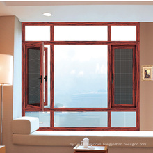 Feelingtop Thermal Break Aluminium Mosquito Net Window for Villa
