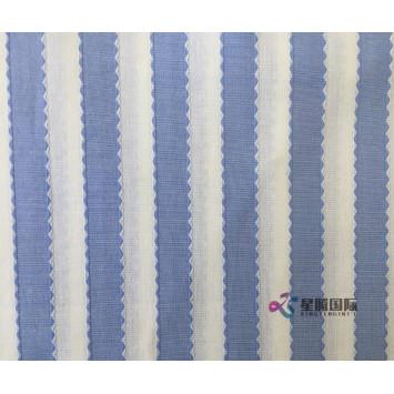 Jacquard Cotton Fabric For Shirt