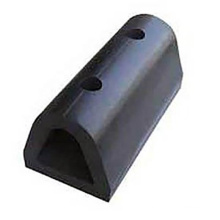 Extrusion dock bumpers marine d type rubber fender