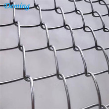 2 in aperture galvanized weave chain link fence fabric