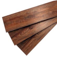 Brown Wood Grain Hochglanz SPC Boden Sportgeschäft