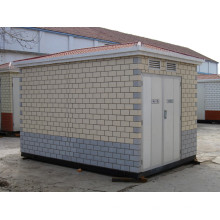 Трансформаторная подстанция с распределительной коробкой