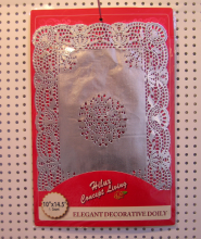10x14.5inch bạc giấy vải lau tay hình chữ nhật