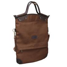 Hochwertige Leinwand und Leder Handtasche Casual große Kapazität Tasche heißer Verkauf weibliche Totes Schultertasche