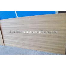Contrachapado natural de la chapa de la teca de Burma del linyi (1.6mm, 2.0mm, 2.4mm / 3.0mm / 3.3mm / 3.6mm / 5.2mm)