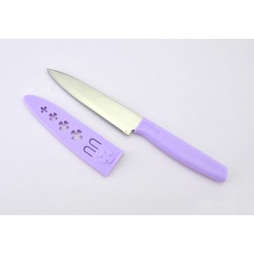 Edelstahl Utility Schälmesser Obstmesser mit Scheide