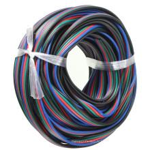 vente en gros fil de câble d'extension de la goupille RVB 4 pour la bande de RVB 5050 3528 LED