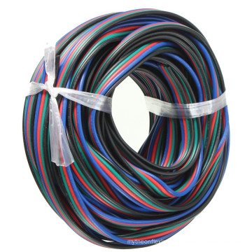 wholesale 4 Pin RGB Extension Cable Wire for RGB 5050 3528 LED Strip
