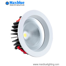 15W 95mm blanco redondo COB LED Downlight Kits