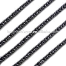 Moda de alta qualidade metal 3 milímetros aço Foxtail cadeia