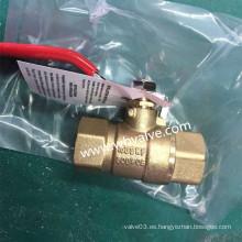 Proveedor profesional de válvula de bola de latón de alta calidad