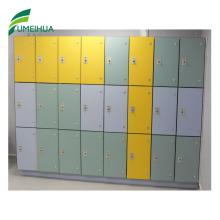 Modern Type 9 Door Compact Laminate Gym Locker for Sale