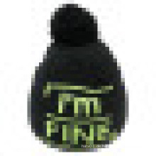 Strickmantel mit gestricktem Logo NTD38