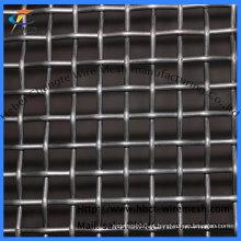 Malha de arame pregado aço preto