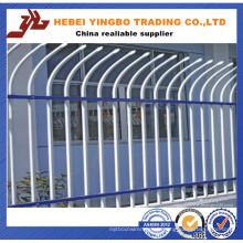 Clôture en acier à tête d'angle haute qualité et à prix avantageux