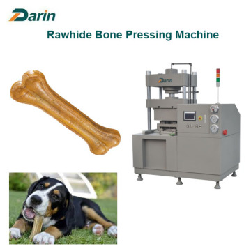Rawhide Dog kauwen bot persen machines