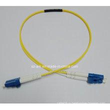 Волоконно-оптический кабель с однослойными однослойными LC-LC-коннекторами (0,6 М)